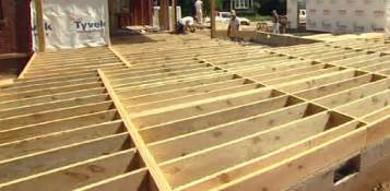 how to build a floor for a house floor joist spans for home building projects today 39 s homeowner