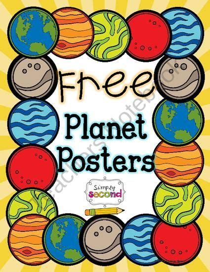 free solar system posters and worksheets from your 270 | de4dfd5f88cfcde5e40db2c901c95cd8 solar system worksheets solar system anchor chart