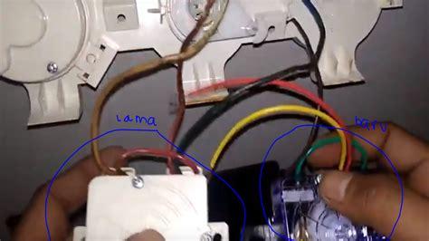 Warna kabel mesin cuci sharp. Memperbaiki Mesin Cuci Sharp 2 tabung - Rusak Bagian ...