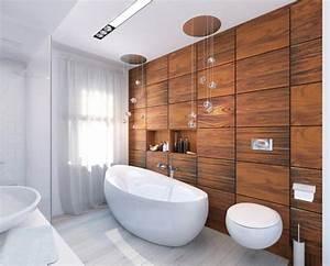 revetement mural salle de bains alternative au carrelage With revetements muraux salle de bain