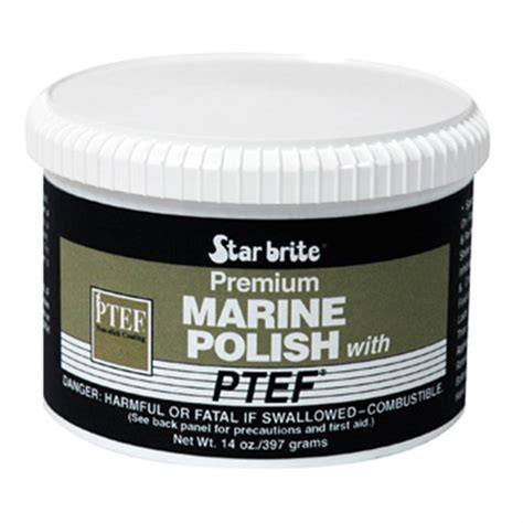 Starbrite Boat Polish by Starbrite Marine Polish With Ptef 177585 Cleaning