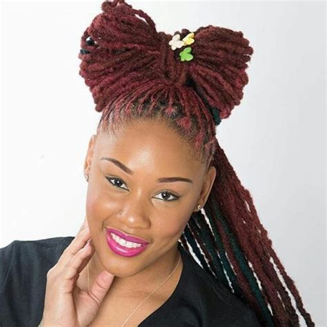 Females With Black Hair by Black With Dreadlocks Hairstyles Best