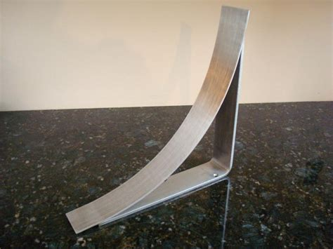 11 inch brushed stainless steel countertop corbel support
