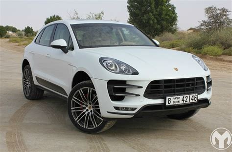 road test review  porsche macan turbo uae yallamotor