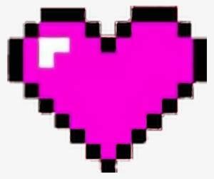 minecraft heart png  transparent minecraft heart