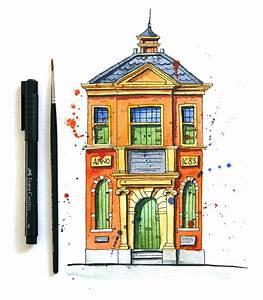 Urban Sketching for Beginners: Watercolour Sketch in 3 ...