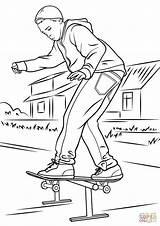 Skateboard Coloring Skateboarding Balancing Skate Printable Skateboards Drawings Entitlementtrap Deskorolce Ramps Printables Rangers Drukuj sketch template