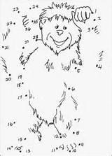Yeti Coloring Coloriage Imprimer Point Colorier Dessin Gratuit Template Momes Tresor Designlooter 28kb 295px sketch template
