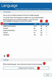 Languages Guide