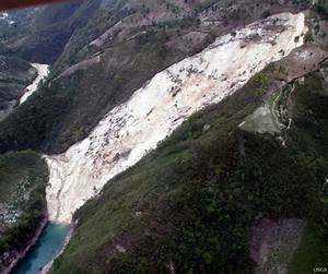Landslide Dam Due to the Haiti Earthquake-triggered Landslides