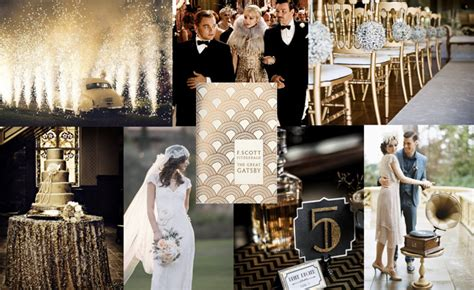 WEDDING COLLECTIONS: Do You Want Ideas for A Gatsby