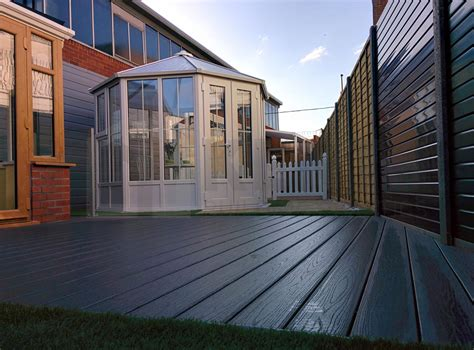 Anthracite Grey Composite Decking