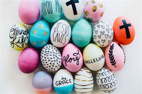 easter egg decoration pictures 10 easter egg decorating ideas tinyme blog