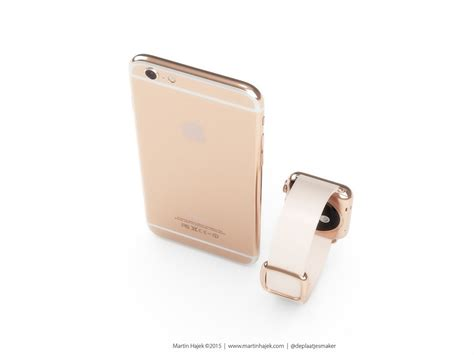 rosegold iphone gold iphone 6s rendered by martin hajek concept phones