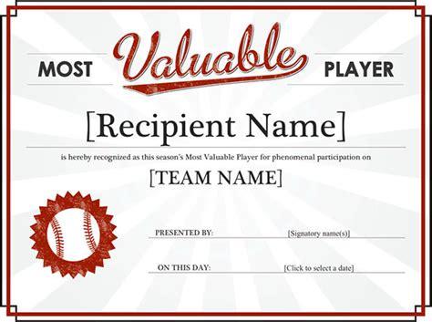 Basketball Mvp Certificate Template Costumepartyrun