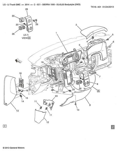 2014 Silverado Wire Diagram by Diagram 2010 Chevy Silverado Parts Diagram Version