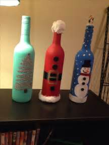1000 ideas about christmas wine bottles on pinterest decorative wine bottles diy xmas