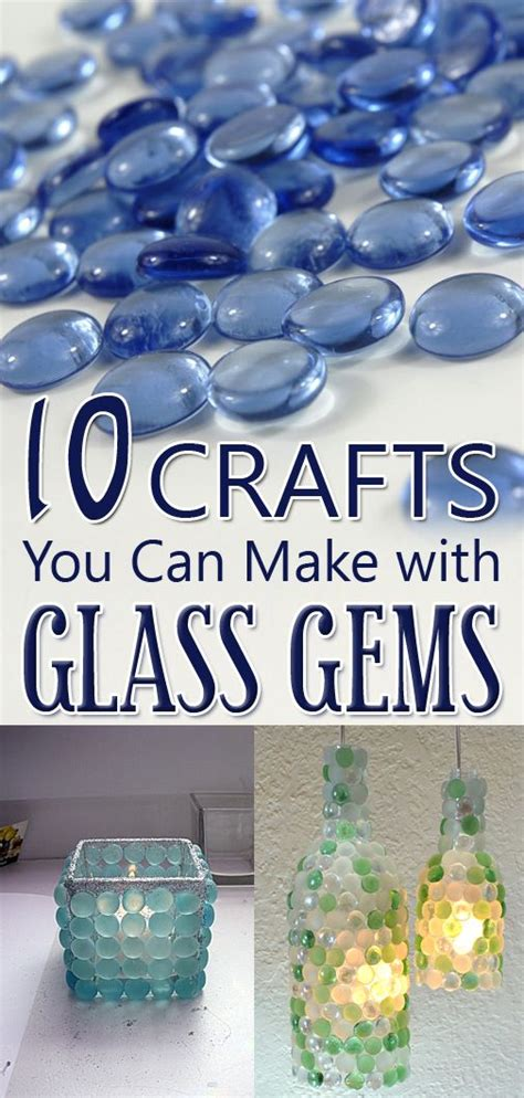 insanely clever crafts     glass gems