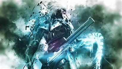 Rising Revengeance Gear Metal Raiden Solid Wallpapers