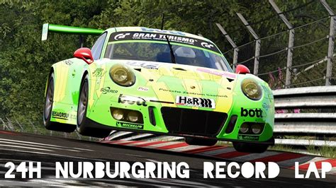24h Nürburgring Lap Record  How Fast Is The Manthey