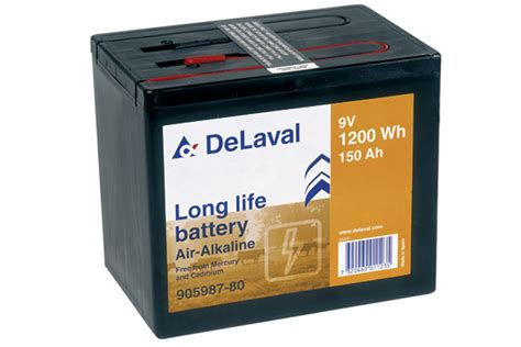 Battery Operated Lava L Nz by Baterii Uscate Delaval