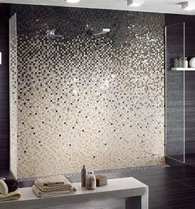 les 25 meilleures idees de la categorie salle de bains With quelle couleur avec taupe 6 revetement mural salle de bain 55 carrelages et alternatives