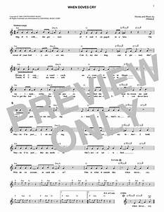 Prince - When Doves Cry sheet music