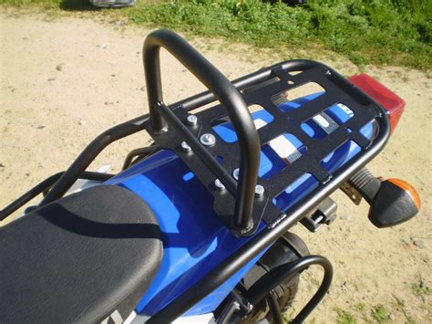 Drz400s Sm Xl Rear Luggage Rack W/ Removable Sissy Bar Drz