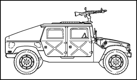 military hummer drawing is0902 edition a lesson 2