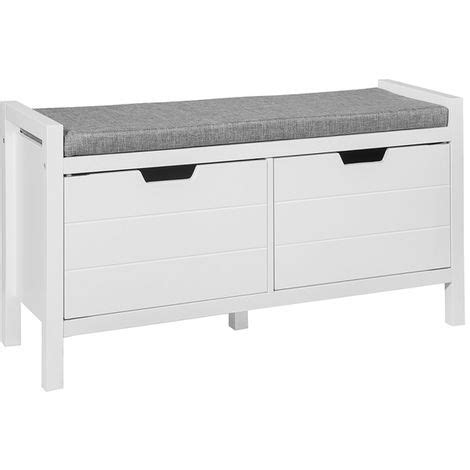 Padded Ottoman Storage Bench by Sobuy Bed End Hallway Padded Storage Bench Stool Ottoman