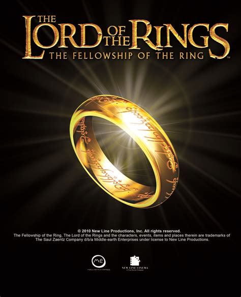 The Lord Of The Rings The Fellowship Of The Ring Dramastyle