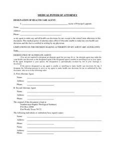 Printable Medical Power Attorney Forms