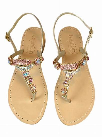 Sandals Jeweled Craftysandals