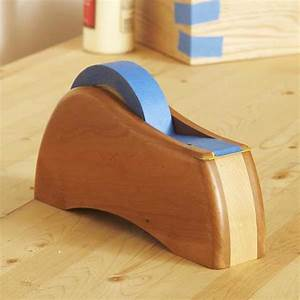 Tape Dispenser Woodworking Plan from WOOD Magazine