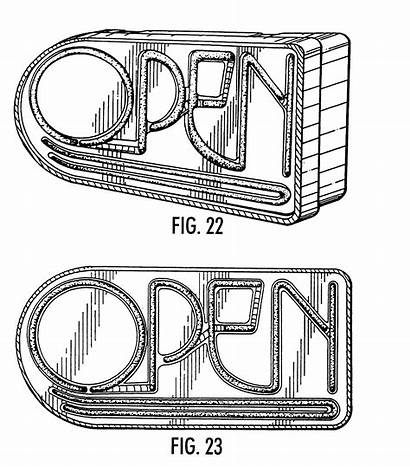 Neon Drawing Sign Signs Patents Patent Getdrawings