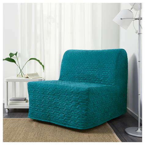 Lycksele Chair Bed by Lycksele Murbo Chair Bed Vallarum Turquoise Ikea