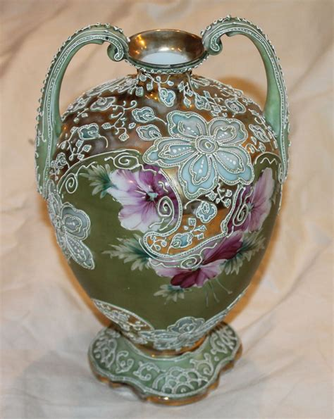 bargain johns antiques nippon moriage porcelain double