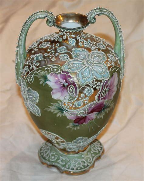 Bargain John's Antiques   Nippon Moriage Porcelain Double