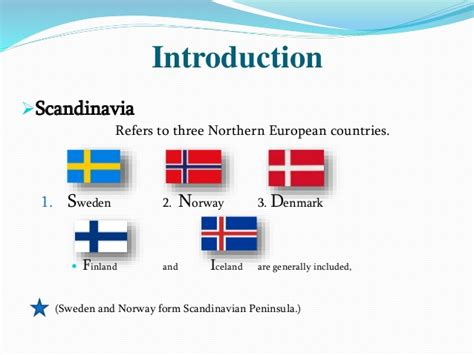 Which For The Nordic Countries Scandinavian Countries