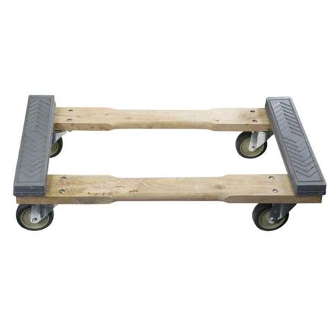 rubber cap moving dolly 4 wheel 18x32