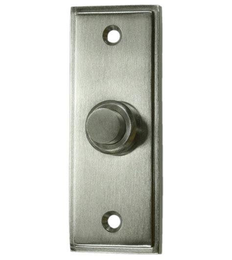 door bell button solid brass contemporary doorbell button deltana bbs333