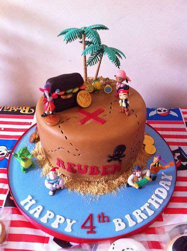 pirate cake cupcakes  cookies jake   neverland