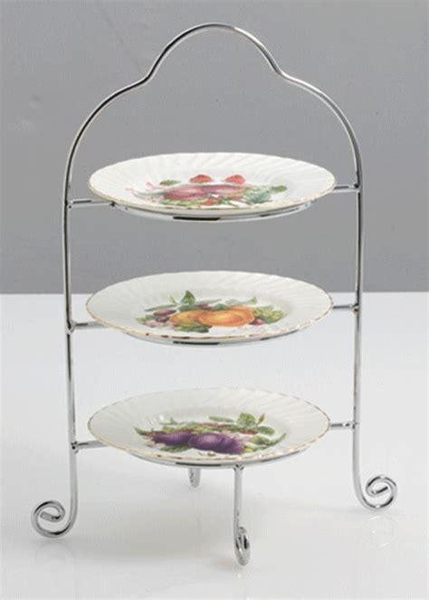 tier tray tea tray chrome plating plates