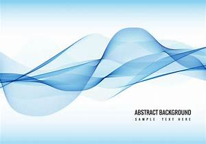 Vector Blue Wave background - Download Free Vector Art ...