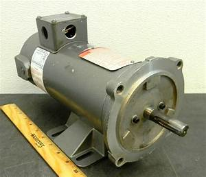 Danfoss Baldor Dc 1  2 Hp 1750 Rpm Electric Motor 180 Volt 56c