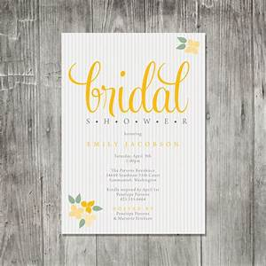 Bridal shower invitations etsy template best template for Wedding shower announcements