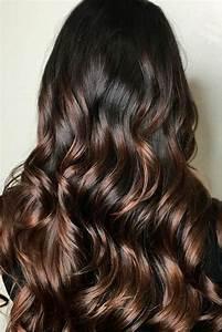 Ombré Hair Chatain : nouvelle tendance coiffures pour femme 2017 2018 les ~ Nature-et-papiers.com Idées de Décoration