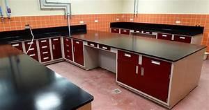 Stainless Steel Laboratory Countertops Edge Grain Maple