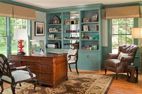 Feng Shui Bookcase Placement by Home Office With Wooden Desk And Built In Bookcase Home