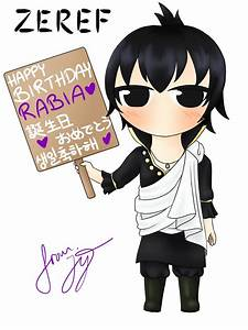 Zeref (Fairy Tail) Chibi Fanart: Colored by AbyssCandy on ...